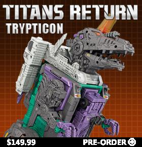 TITANS RETURN TRYPTICON