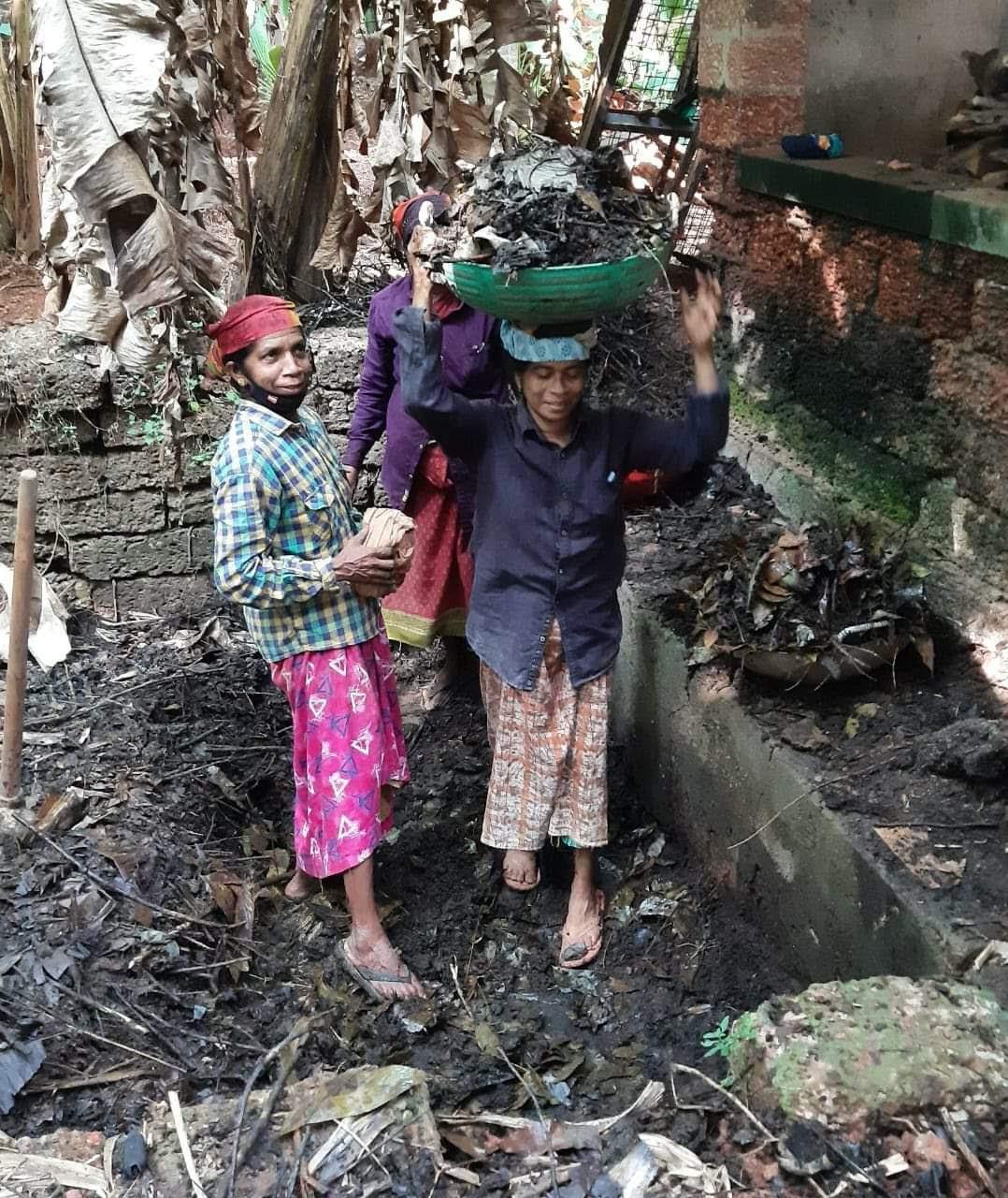 P. Prameela, who won a landslide at Pilicode, returns to work the next day