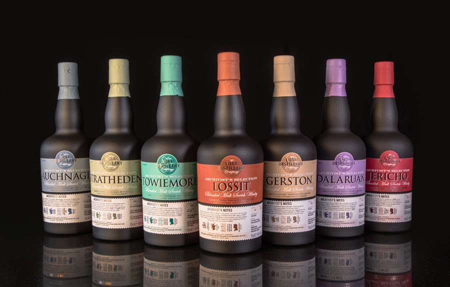 The Lost Distillery Company | Whisky Legends Reborn