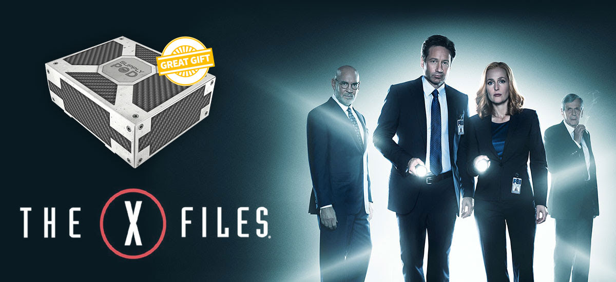Grab your X-Files Theme Supply...