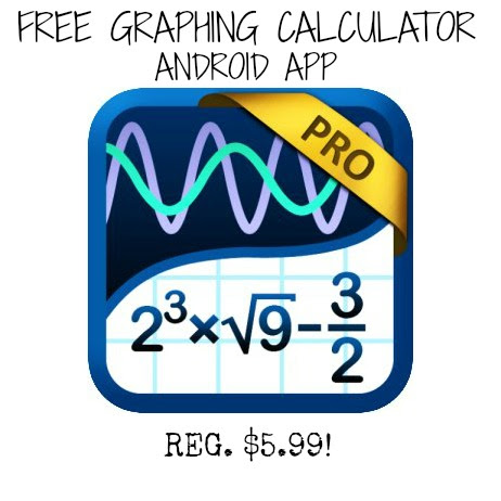 graphing calculator FREE Graphing Calculator PRO by Mathlab Android App (Reg. $5.99!)