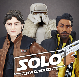 SOLO: A STAR WARS STORY BLACK SERIES FIGURES