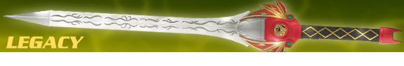 MIGHT MORPHIN POWER RANGERS LEGACY RED RANGER POWER SWORD