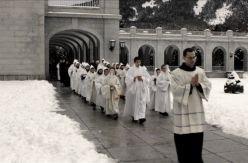 El Gobierno planea sacar a los monjes benedictinos del Valle de los Caídos