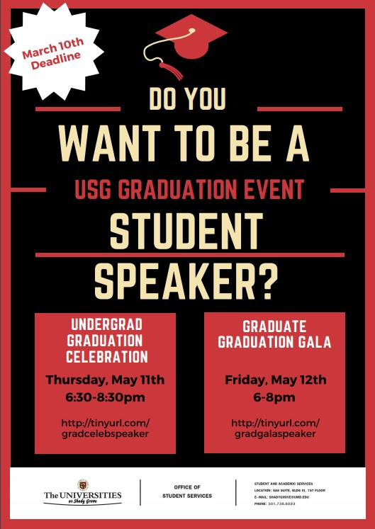 Grad Event Speakers Needed