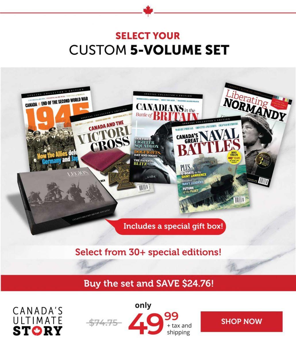 Custom 5 Volume Set