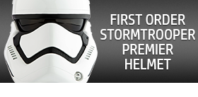 EPISODE VII FIRST ORDER STORMTROOPER HELMET