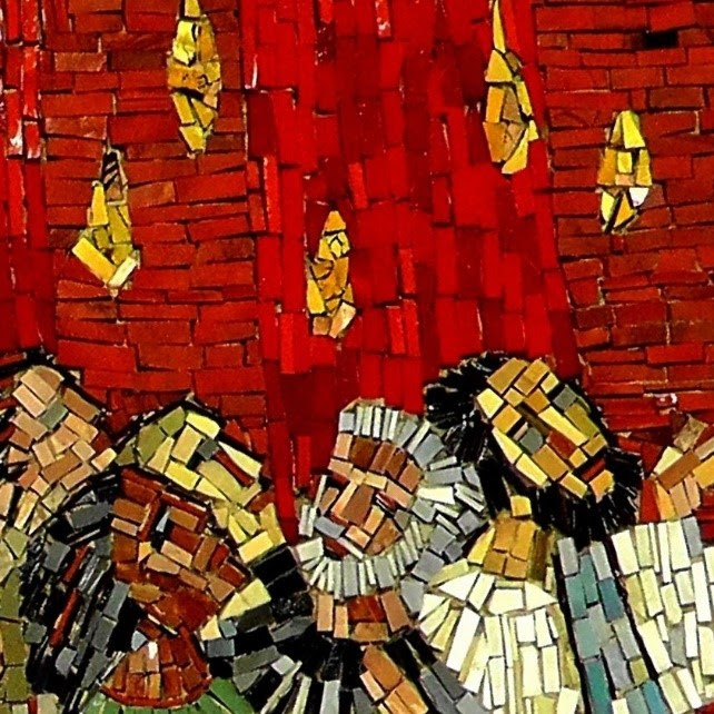 detail from Pentecost mosaic