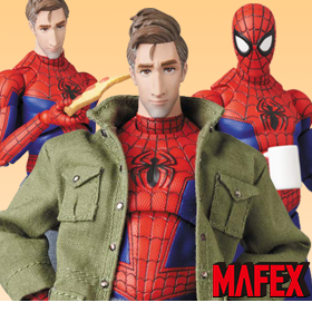 SPIDER-MAN: INTO THE SPIDER-VERSE MAFEX NO.108 PETER B. PARKER