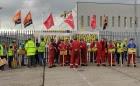 Ширится поддержка рабочих Harland and Wolff, которые пять недель не покидают свою верфь