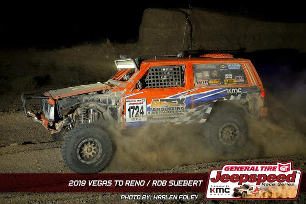 Jeepspeed, Rob Suebert, Vegas To Reno, General Tire, KMC Wheels