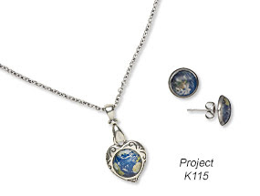 Single-Strand Necklace and Earring Set (Project K115)