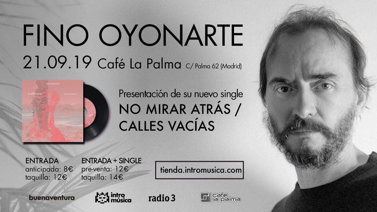 Fino Oyonarte en Madrid