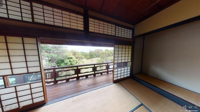 居間棟2階 (C)VR革新機構 提供:佐倉市文化課
