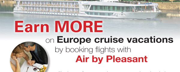 Earn MORE on Cruise Vacations with Commissionable or Net Airfares!