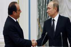 Τηλεγράφημα Πούτιν σε Ολάντ για την επίθεση στην Νίκαια