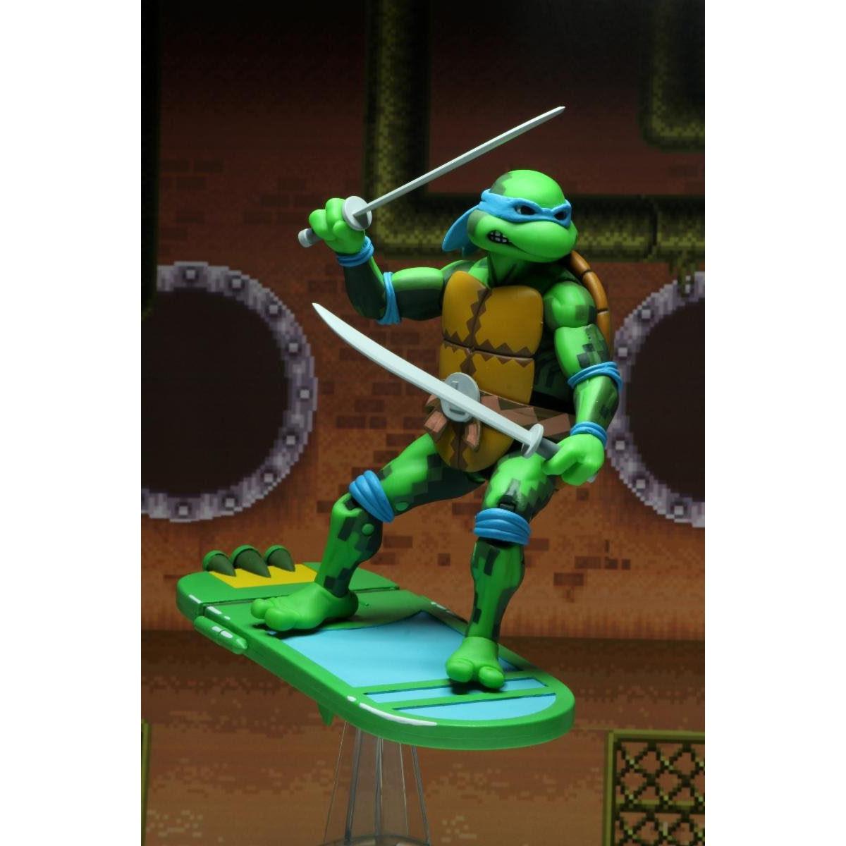 "Image of TMNT: Turtles in Time - 7"" Scale Action Figures - Leonardo - NOVEMBER 2019"