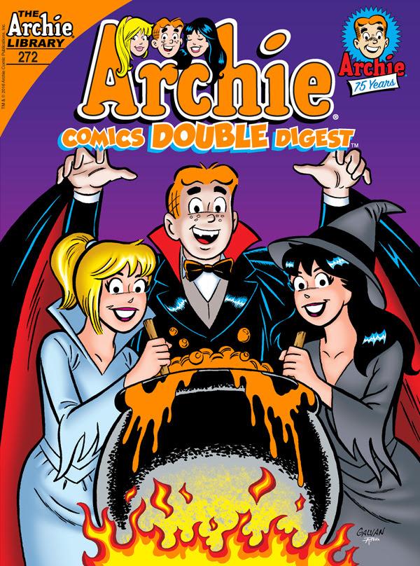 Archie Comics Double Digest #272 Cover