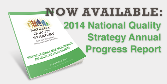 National Quality Strategy Annual Progress Report