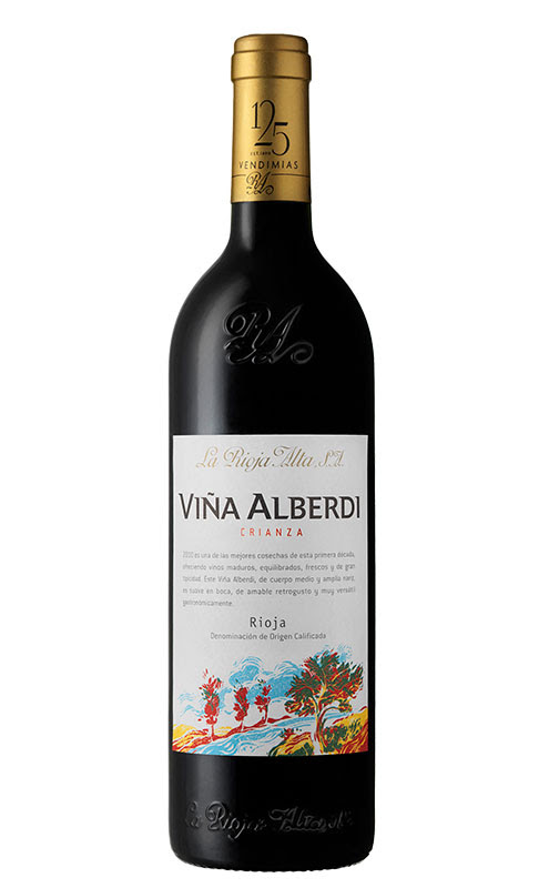 Image result for vina alberdi rioja 2012