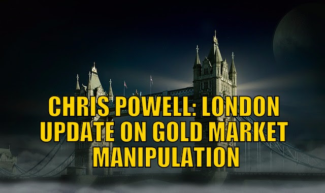 Update on Gold Market Manipulation