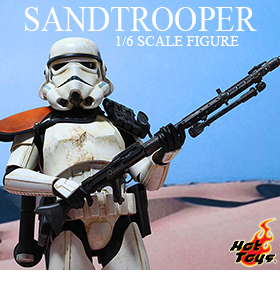 HOT TOYS STAR WARS EP IV SANDTROOPER