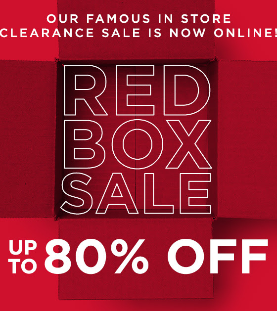 Clearance Shop Now