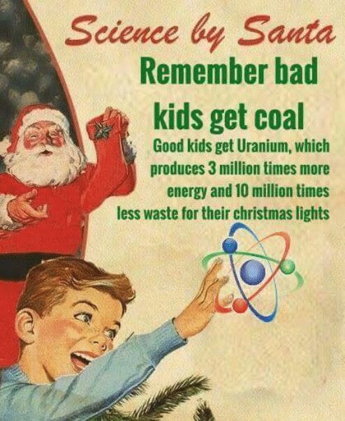 Santa Uranium Meme