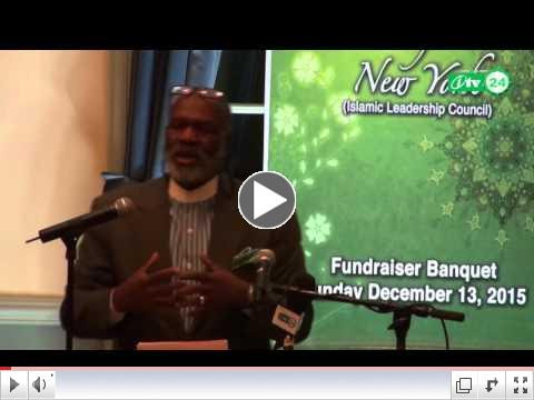 Dr. Abdul Hakeem Jackson at Majlis Ashura of New York s 25th Anniversary