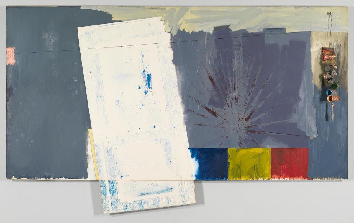 Jasper Johns, Studio, 1964.