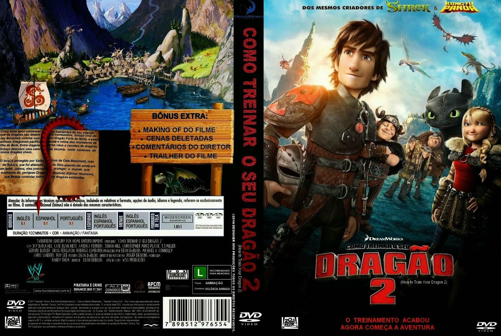 FwJLjaJ Como Treinar o Seu Dragão 2 Torrent   BluRay Rip 720p | 1080p Dublado (2014)