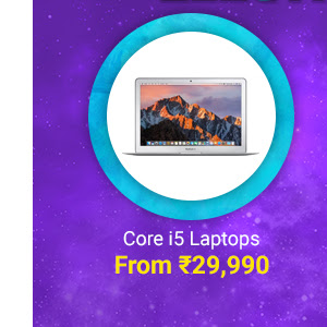 Core i5 Laptops from Rs.29k