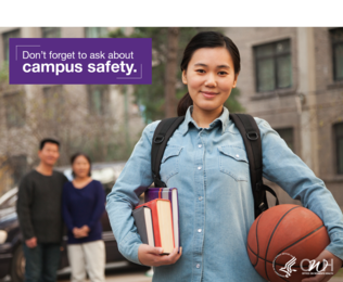 Don't forget to ask about campus safety.