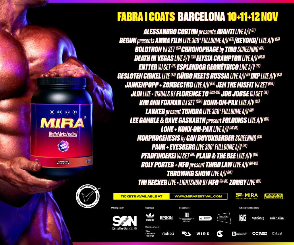 MIRA. Digital Arts Festival 2016