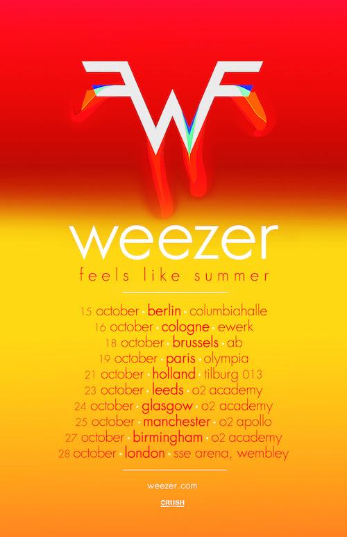 Weezer - UK/EU Tour
