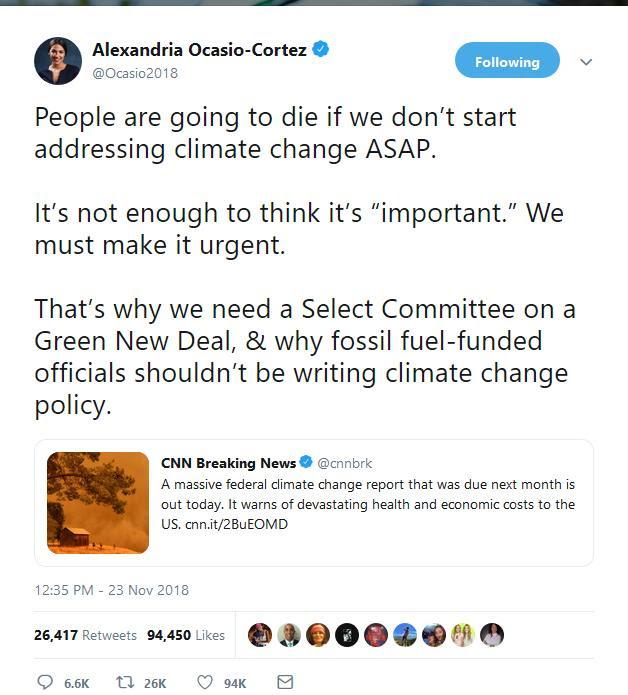AOC nonsense