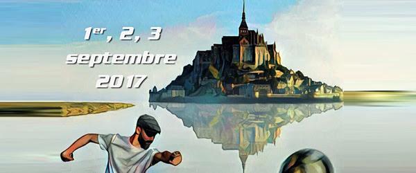 Championnat de France triplette à pétanque 2017 au Mont-Saint-Michel