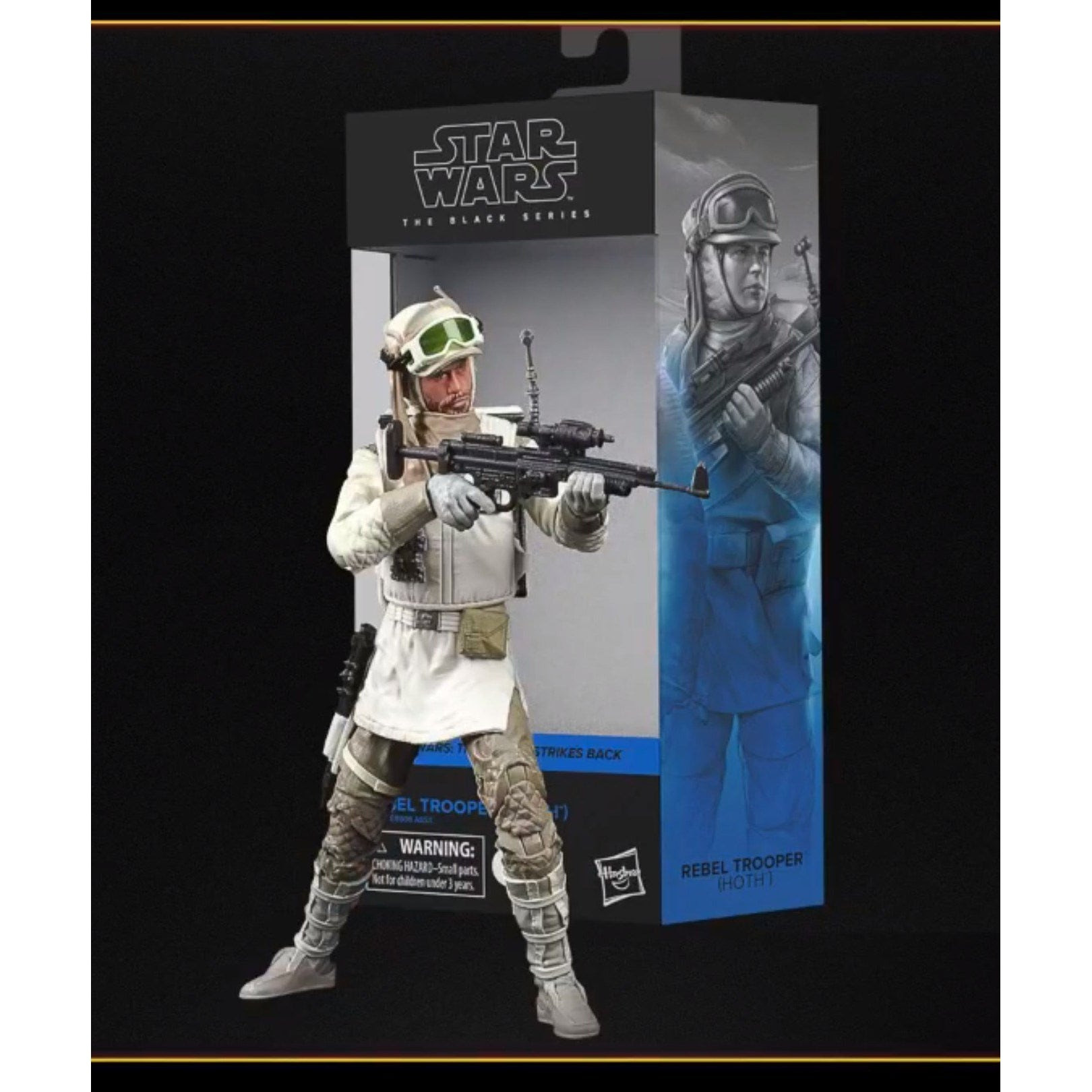 Image of Star Wars The Black Series Rebel Trooper (Hoth) 6-Inch Action Figure - OCTOBER 2020
