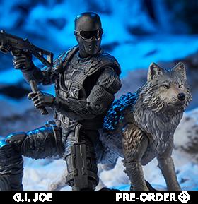 G.I. Joe Classified Series Snake Eyes & Timber Wolf