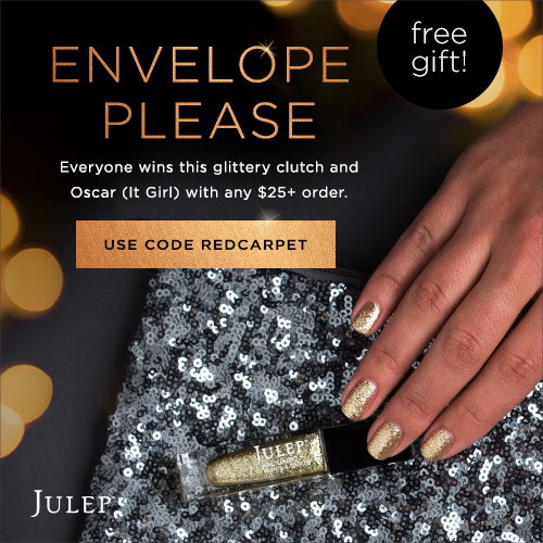 FREE Julep Red Carpet Clutch and Polish set + FREE Subscription Box