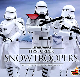 HOT TOYS EPISODE VII SNOWTROOPERS