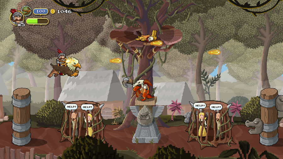 Gryphon Knight Epic kickstarter screenshot1