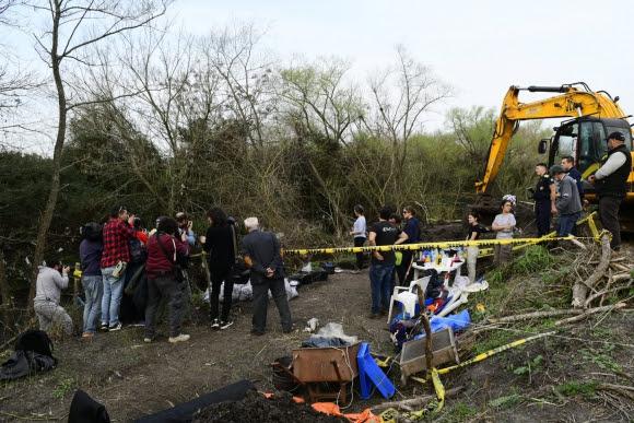 Predio donde se encontró esqueleto humano. Foto: Marcelo Bonjour