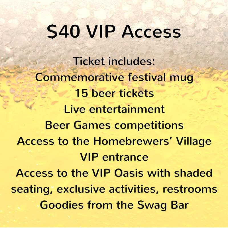 $40 VIP ticket