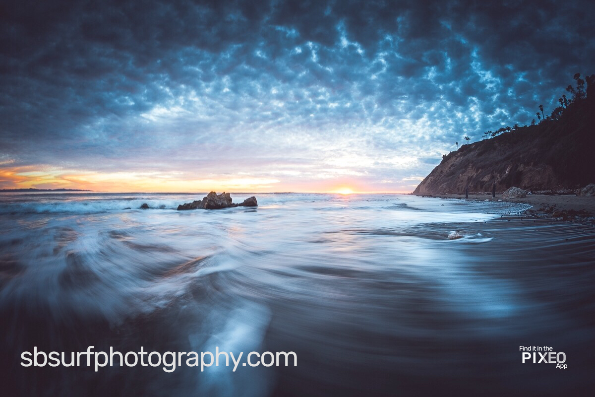 Doug Golupski sunset pictures taken at this gorgeous California Photo Location