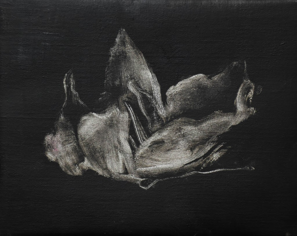 Lucia Gomez_Falling Apart, 2015, 20x25cm, oil on canvas