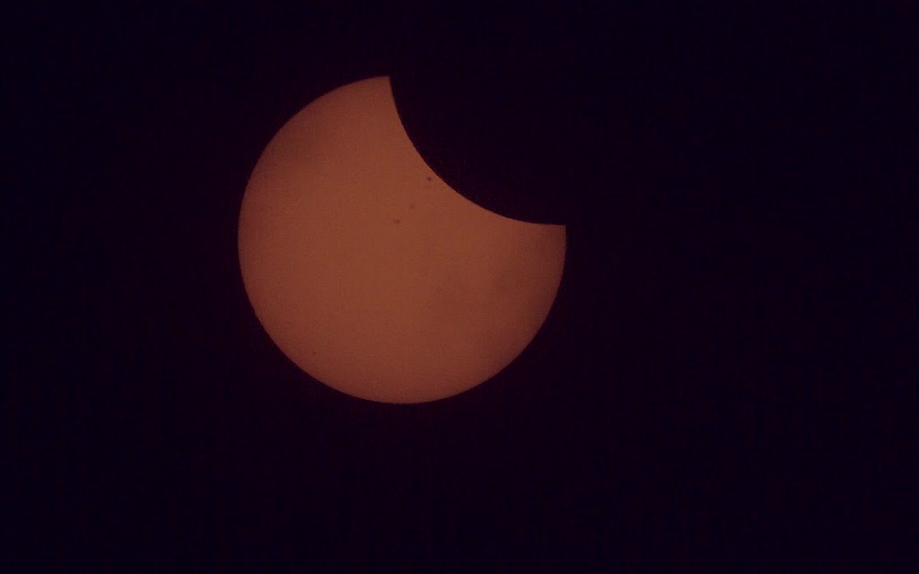 2017 Total Solar Eclipse - ISS Transit - (NHQ201708210203)