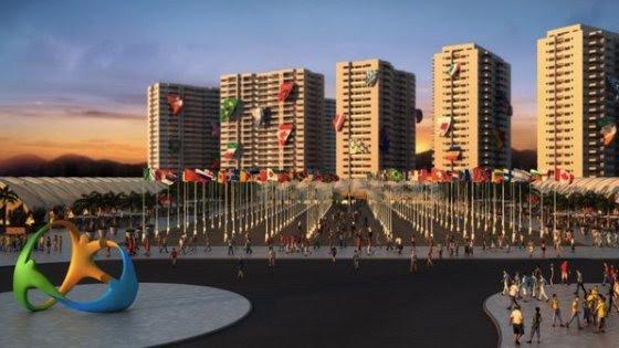 Durante os Jogos Paraolímpicos, os atletas terão 694 apartamentos com acessibilidade e mais de oito mil camas.