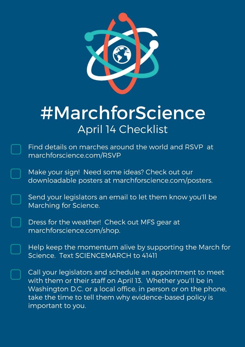 April 14 Checklist