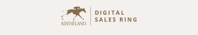 Keeneland Digital Sales Ring